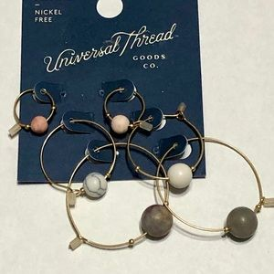 Universal Thread Hoop Earring Set